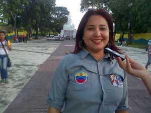 Ennilce González enfatizó que disminuyendo las llamadas de sabotaje se logra la atención inmediata de las emergencias